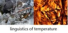 Linguistics of Temperature