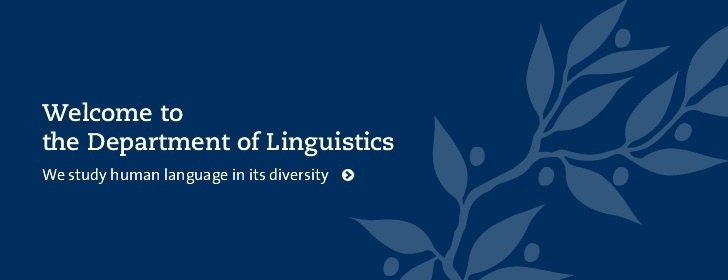 Welcome to the Department of Linguistics