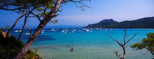 Porquerolles in the south of France.